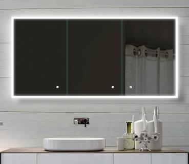 Zrcadlová skříňka SAC140H70